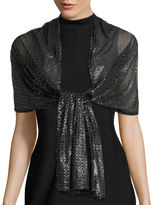 Big Buddha Fall Foil Evening Wrap