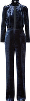 Sonia Rykiel Cutout velvet jumpsuit