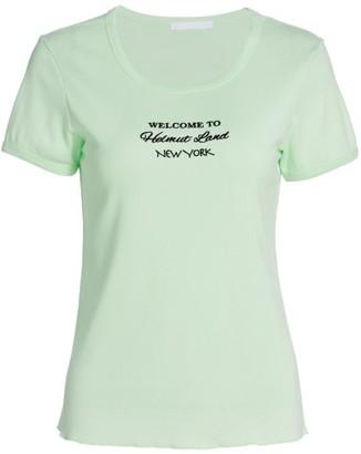 Helmut Lang Logo Slim-Fit T-Shirt