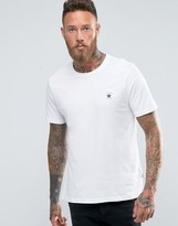 Converse Chuck Logo T-shirt In White 10002850-a01