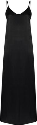 ENVELOPE1976 Satin Effect Slip Dress