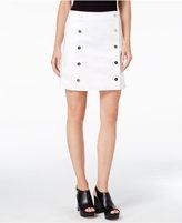 MICHAEL Michael Kors Button-Down Mini Skirt