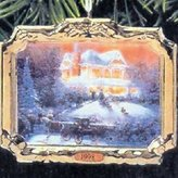 Thomas Laboratories Victorian Christmas II Kinkade, Painter of Light 2nd in Series 1998 Hallmark Ornament QX6343