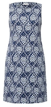 Charter Club Abstract-Print Sleeveless Dress, Created for Macy's