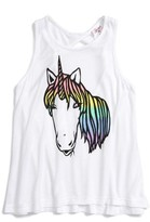 Flowers by Zoe Girl's Unicorn Graphic Tank