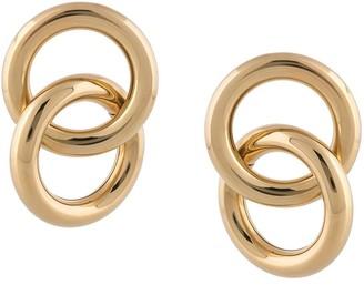 Laura Lombardi Interlock hoop earrings