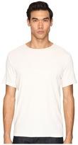 Vince Raw Edge Crew Neck T-Shirt Men's T Shirt