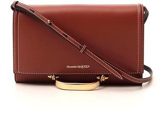 Alexander McQueen The Story Clutch Bag