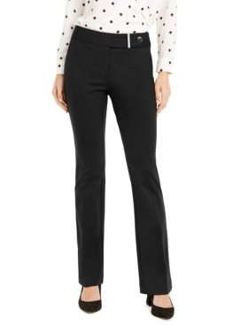 Alfani Tummy-Control Extended-Tab Trousers, Created for Macy's