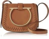 Salvatore Ferragamo Sabine Sella Leather Small Crossbody Bag