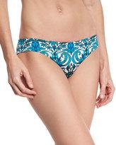 Ach'e A. Che Azteca Vera Hipster Swim Bottom, Blue Pattern