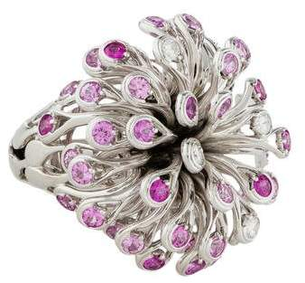 Christian Dior Feu D'Artifice Cocktail Ring