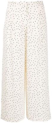 Baum und Pferdgarten Polka-Dot Print Trousers