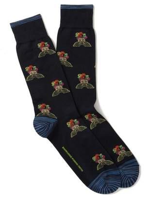 Robert Graham The Orient Crew Socks