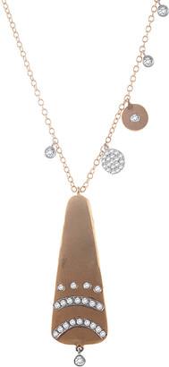 Meira T 14K 0.25 Ct. Tw. Diamond Charm Necklace
