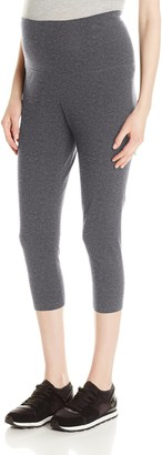 Three Seasons Maternity Women's Maternity Capri Legging
