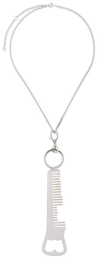 MM6 MAISON MARGIELA bottle opener necklace