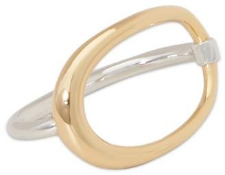 Charlotte Chesnais Double Turtle ring