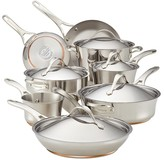 Anolon Nouvelle Stainless Steel 14-Piece Cooking Set