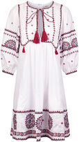 Talitha White Cotton Indian Peasant Dress