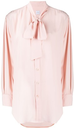 Paul Smith Bow Detail Long-Sleeved Shirt