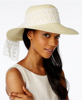 Collection XIIX Crochet Band Floppy Hat