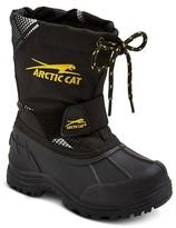Arctic Cat Toddler Boys' Snowshower Winter Boots - Black Print
