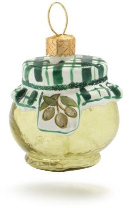 Sur La Table Jar of Olives Ornament
