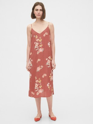 Gap Tie-Back Cami Midi Dress