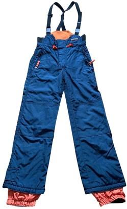 Napapijri Blue Trousers for Women