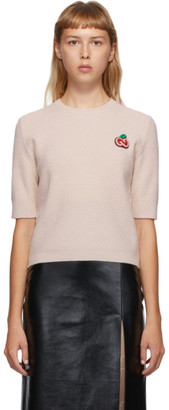 Gucci Off-White GG Apple Knit Sweater