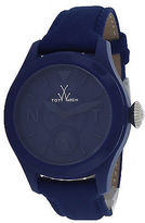 Toy Watch ToyWatch TTF02BL Unisex Toy To Fly Blue Dial Blue Satin
