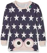 Fred's World by Green Cotton Girl's Star Peep T Girl Blouse