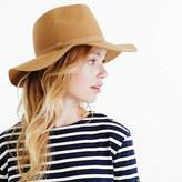J.Crew Wide-brimmed Italian wool-felt hat