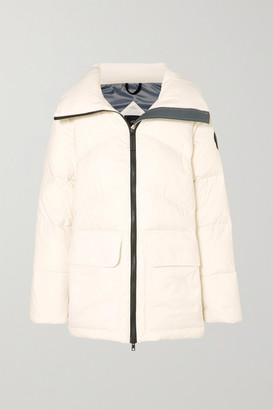 Canada Goose Ockley Quilted Shell Down Jacket - White
