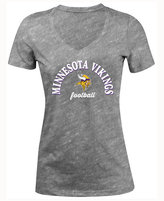 5th & Ocean Women's Minnesota Vikings Checkdown LE T-Shirt