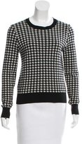 Comme des Garcons Wool Houndstooth Sweater