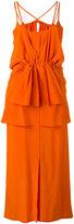 Christian Wijnants sleeveless dress - women - Silk Crepe - 34