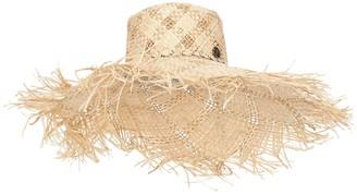 Maison Michel Ursula raffia hat