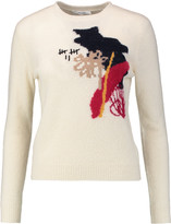 Carven Intarsia wool-blend sweater
