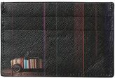 Paul Smith Mini Stripes Leather Card Holder