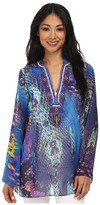 Hale Bob Cosmopolitan Jungle Snakeprint Tunic