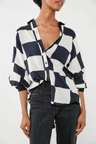 brand Cooperative Cooperative Bonjour Checkered Button-Down Shirt