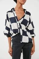Cooperative Bonjour Checkerboard Button-Down Shirt