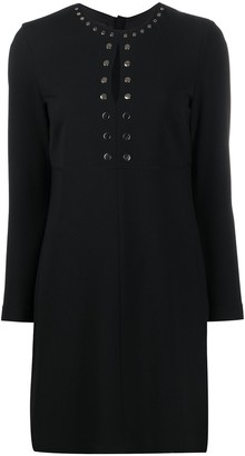 Pinko Studded Shift Dress