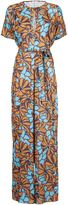 Tome oversized floral print jumpsuit