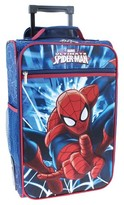 """Spiderman Marvel 18"""" Molded Luggage - Blue"""