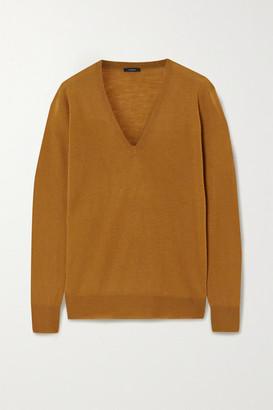 Joseph Cashmere Sweater - Mustard