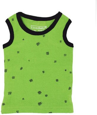 L'ovedbaby Tank Top Moss Hatch 9-12 Months