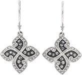 AX Jewelry Ladies 1/2CTTW SilverMist Diamond Earring in Sterling Silver